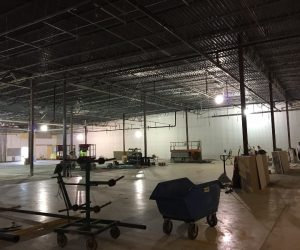 TJMAXX Construction at Pine Tree Mall Marinette