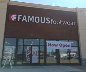 Famous Footwear now open Pine Tree Mall