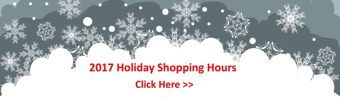 Pine Tree Mall Holdiay Shopping Hours